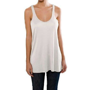 Ladies Fine Jersey A-Line Tank Top - Yoga Clothing for You