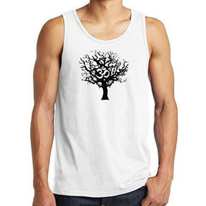 Mens Tree of Life Tank Top Shirt - Yoga Clothing for You - 1
