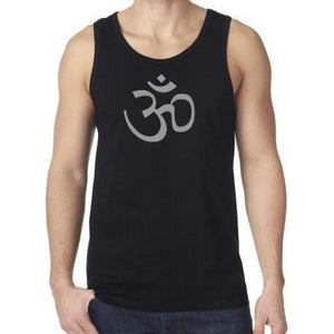 Mens AUM Symbol Lightweight Tank Top - Yoga Clothing for You - 5