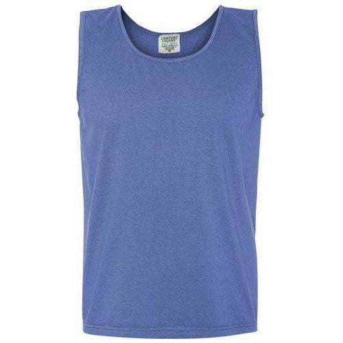 Men's Yoga Pigment Dyed Tank Top - Yoga Clothing for You