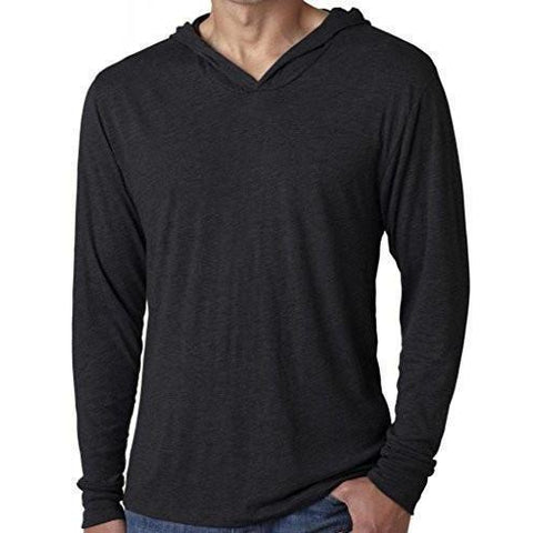 Yoga Clothing for You Mens Thin Lightweight Hoodie Tee Shirt