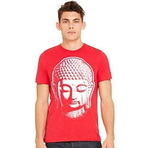 Men's Big Buddha Yoga T-shirt - Yoga Clothing for You - 3