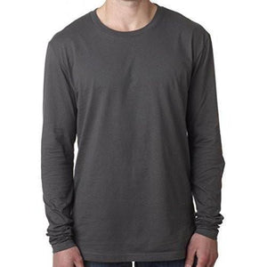 Mens Fitted Long Sleeve Tee Shirt - Yoga Clothing for You - 2