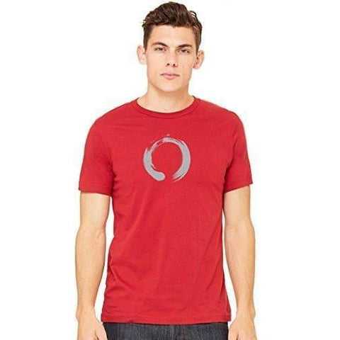 Yoga Clothing for You Men's Enso Symbol Yoga T-shirt