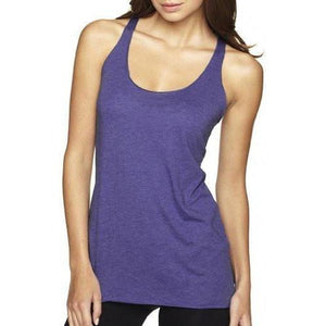 Womens Tri-Blend Racerback Yoga Tank Top - Yoga Clothing for You - 6