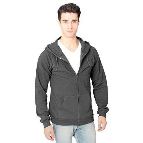 Yoga Clothing for You Men's Full Zip Organic Hoodie