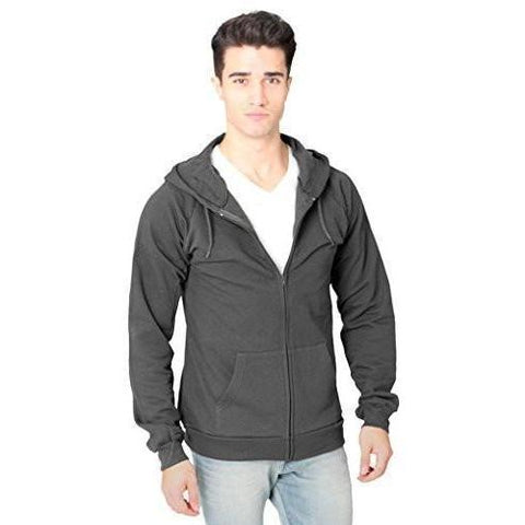 Men's Full Zip Organic Hoodie - Yoga Clothing for You