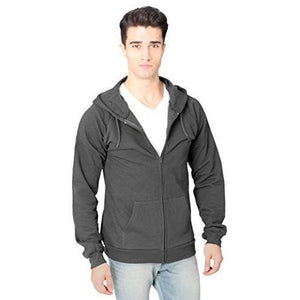 Men's Full Zip Organic Hoodie - Yoga Clothing for You - 2
