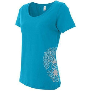 Ladies Bodhi Tree Yoga T-shirt - Yoga Clothing for You