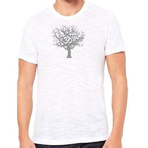 Mens Tree of Life Marble Tee Shirt - Yoga Clothing for You - 15