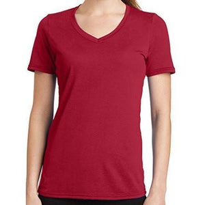 Womens V-neck Tee Shirt - Yoga Clothing for You - 7