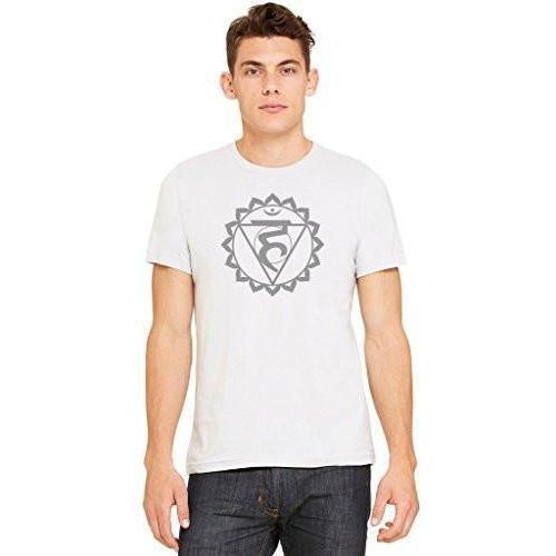 Yoga Clothing for You Men's Vishuddha Chakra Yoga T-shirt