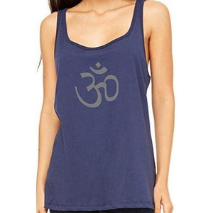 Womens Relaxed Fit AUM Om Tank Top - Yoga Clothing for You - 3