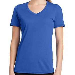Womens V-neck Tee Shirt - Yoga Clothing for You - 9
