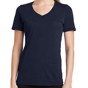 Womens V-neck Tee Shirt - Yoga Clothing for You - 4