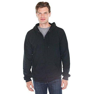 Men's Full Zip Organic Hoodie - Yoga Clothing for You - 17