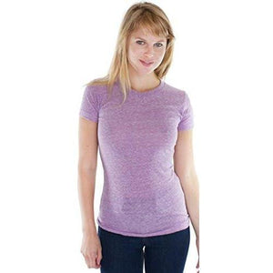 Ladies Triblend Old School Gym Tee - Yoga Clothing for You
