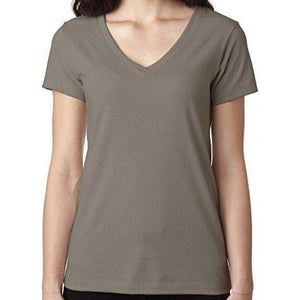 Ladies Ideal V-neck Tee - Yoga Clothing for You