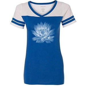 Womens Lotus Flower Tee Shirt - Yoga Clothing for You - 7