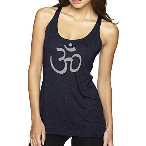 Ladies Yoga Racerback Tank Top - AUM - Yoga Clothing for You