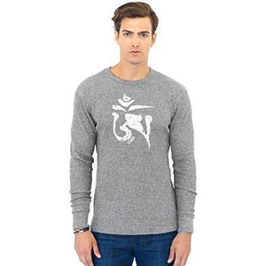 Men's Tibet OM Eco Thermal Tee - Yoga Clothing for You - 4