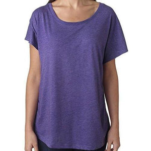 Womens TriBlend Dolman Tee Shirt - Yoga Clothing for You - 5