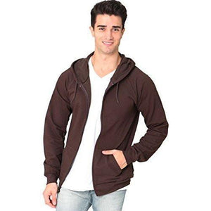 Men's Full Zip Organic Hoodie - Yoga Clothing for You - 5