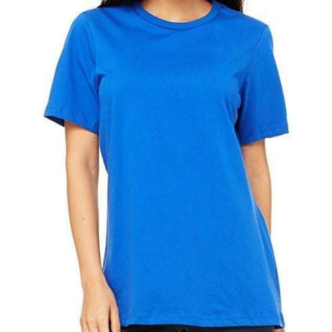 Womens Relaxed Fit Cotton Tee Shirt - Yoga Clothing for You