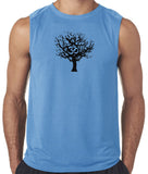 "Mens ""Tree of Life"" Muscle Tee Shirt"