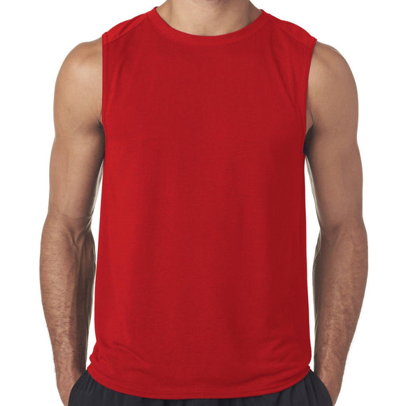 Mens Moisture-wicking Muscle Tank Top Shirt - Yoga Clothing for You - 1