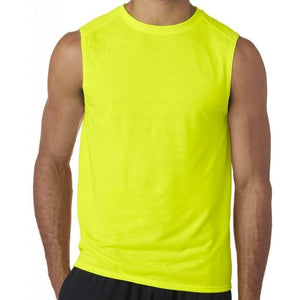 Mens Moisture-wicking Muscle Tank Top Shirt - Yoga Clothing for You - 2