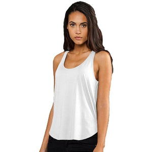 Ladies Rounded Hem Yoga Tank Top - Yoga Clothing for You - 1