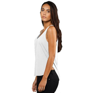 Ladies Rounded Hem Yoga Tank Top - Yoga Clothing for You - 3