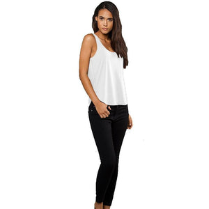 Ladies Rounded Hem Yoga Tank Top - Yoga Clothing for You - 2