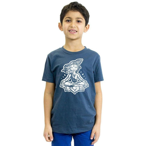 Kids Krishna Organic Tee Shirt - Yoga Clothing for You