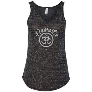 Womens Namaste OM Flowy Tank Top - Yoga Clothing for You - 3
