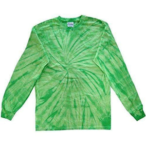 Mens Tie Dye Long Sleeve Tee Shirt - Yoga Clothing for You - 11