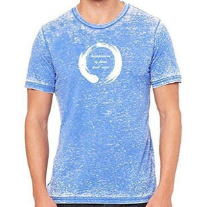 Mens Zen Happiness Marble Tee Shirt - Yoga Clothing for You - 11