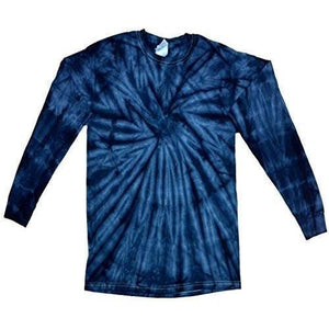 Mens Tie Dye Long Sleeve Tee Shirt - Yoga Clothing for You - 12