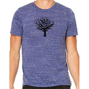 Mens Tree of Life Marble Tee Shirt - Yoga Clothing for You - 8