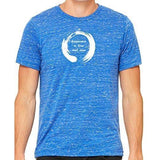 Mens Zen Happiness Marble Tee Shirt - Yoga Clothing for You - 1