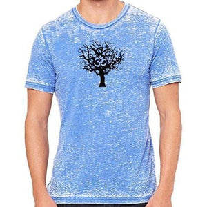 Mens Tree of Life Marble Tee Shirt - Yoga Clothing for You - 12