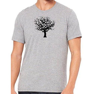 Mens Tree of Life Marble Tee Shirt - Yoga Clothing for You - 5