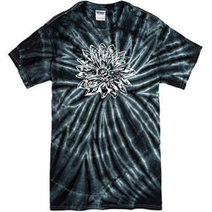 Mens Sketch Lotus Tie Dye Tee - Yoga Clothing for You - 2