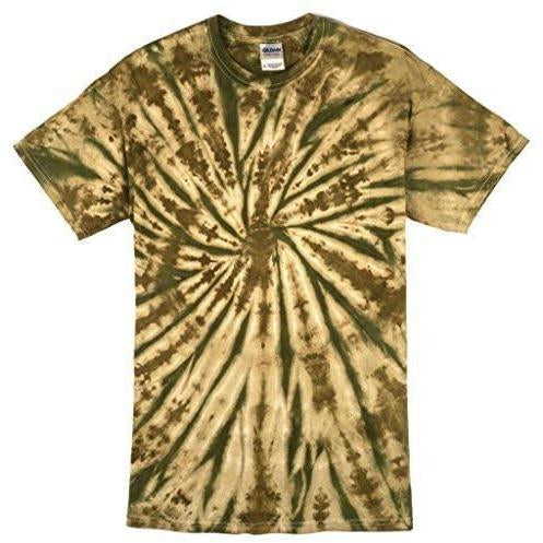 Mens Camo Spiral Tee Shirt - Yoga Clothing for You