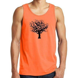 Mens Tree of Life Tank Top Shirt - Yoga Clothing for You - 4