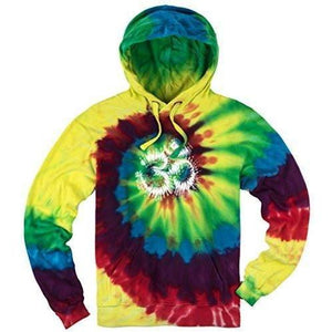 Mens Tie Dye OM Hoodie - Yoga Clothing for You