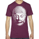 Mens Big Buddha Head Lighweight Tee Shirt - Yoga Clothing for You - 5