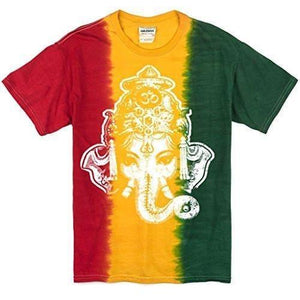 Mens Big Ganesha Head Shirt - Yoga Clothing for You