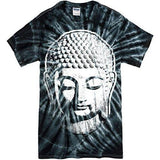 Mens Big Buddha Head Tie Dye Tee Shirt - Yoga Clothing for You - 3